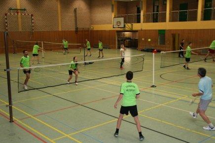 Badmintontraining