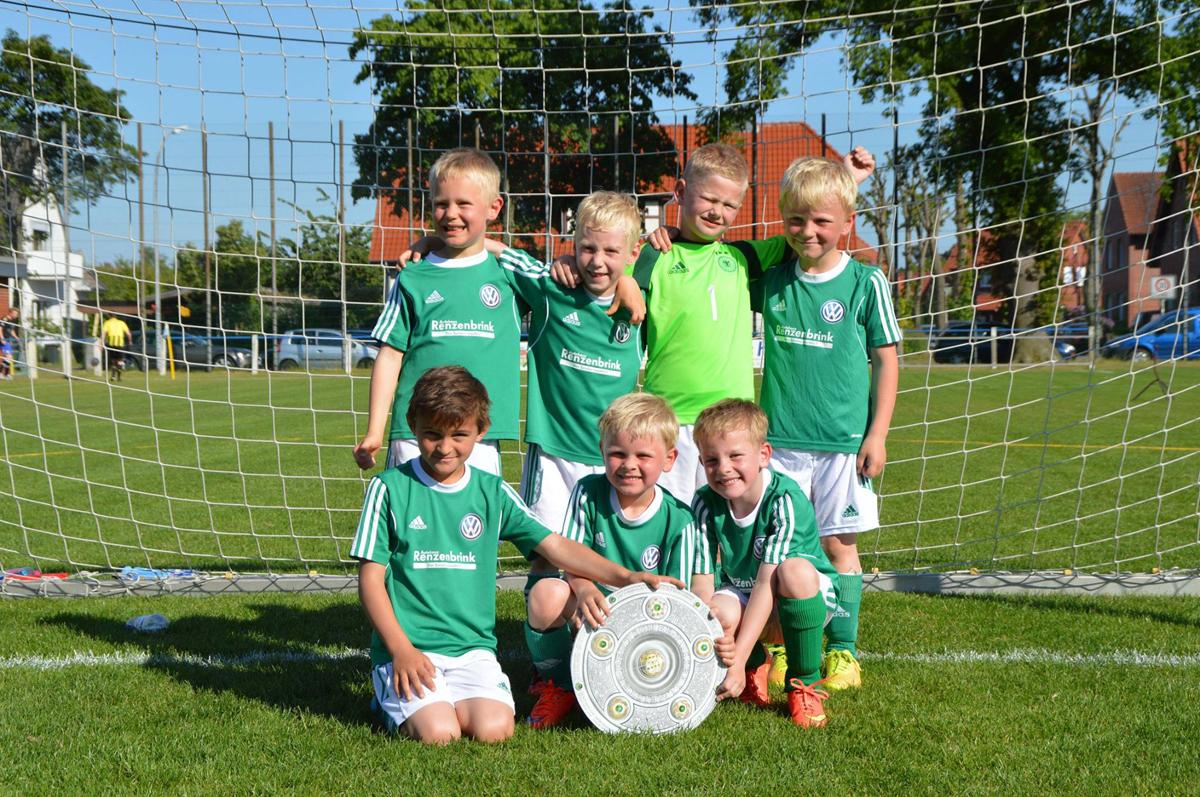 Kreismeister 2015 Fußball G1 Jugend