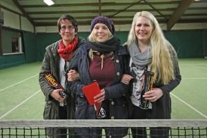 Das erfolgreiche Damenteam, v.l.n.r.: Ilona Wöstmann, Maren Frank, Carina Brinkmann
