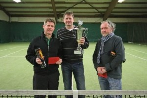 Die Gesamtsieger, v.l.n.r.: Carsten Colmsee, Gerd Bödige, Heiko Vietz