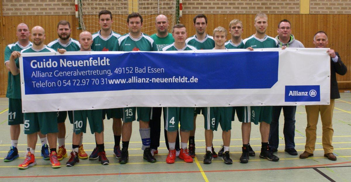 Allianz Guido Neuenfeldt ist der neue Sponsor der Basketballer