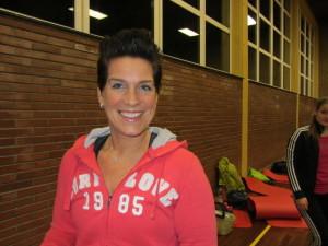 Übungsleiterin Lydia Hesse