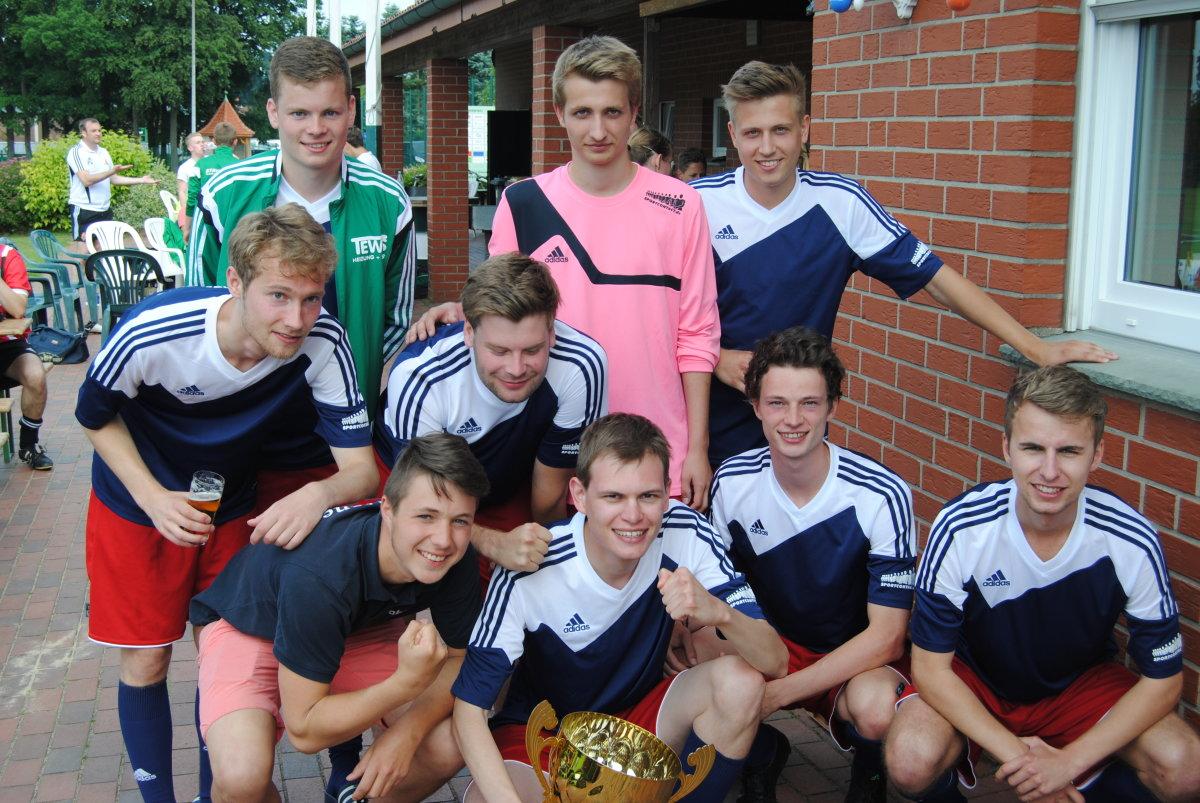 Fußballmannschaft Messdiener Rulle