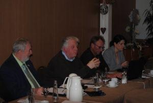 Geschäftsführer Marc Knuffmann bei der Jahreshauptversammlung 2017