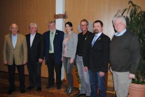 Vorstandsmitglieder nach der Wahl 2017