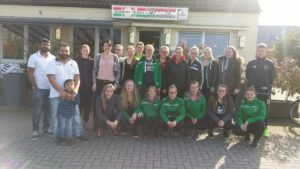 Die Damenmannschaft bei Rialto