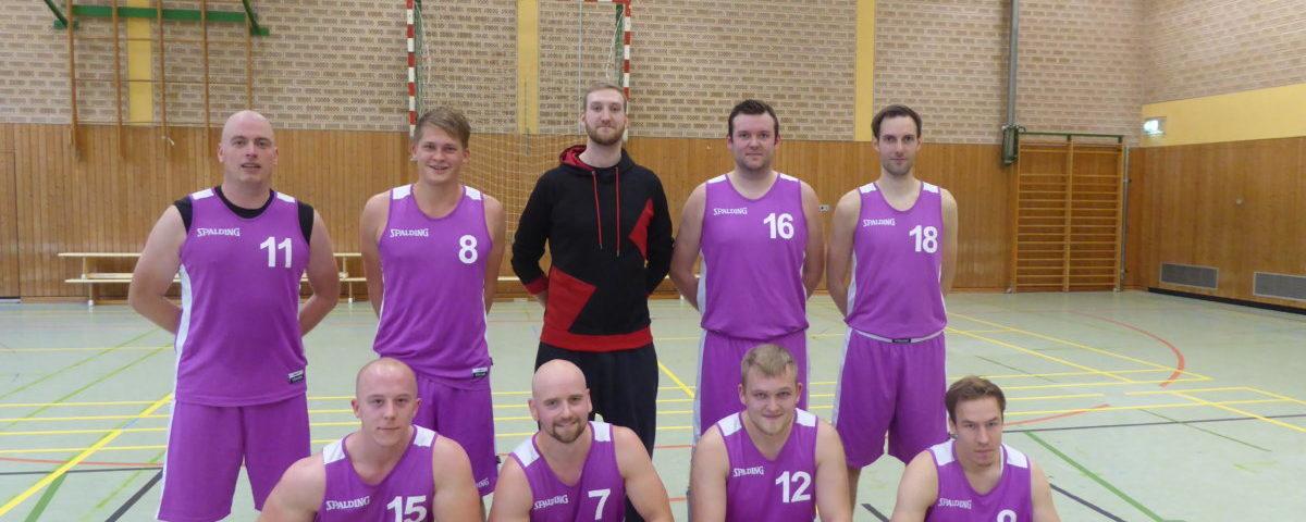 Mannschaftsfoto 2. Herren Basketball TuS Eintracht Rulle
